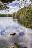 Lago Garten en el parque nacional de Cairngorms Fotografía de archivo libre de regalías