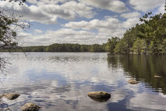 Lago Garten en el parque nacional de Cairngorms Fotografía de archivo