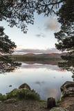 Lago Garten en Escocia Fotografía de archivo