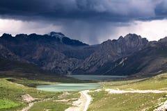 Lago gemellato Immagine Stock