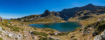 Lago gemellato I fotografia stock libera da diritti