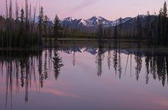 Lago gemellato upper fotografia stock libera da diritti