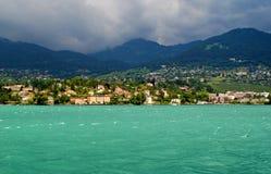 Lago Genebra fotos de stock royalty free