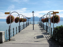 Lago Genebra, Switzerland Fotografia de Stock