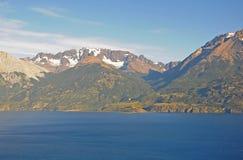 Lago general Carrera. Fotografia de Stock
