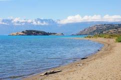 Lago general Carrera. Foto de Stock Royalty Free