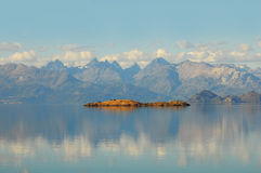 Lago general Carrera. Imagen de archivo libre de regalías
