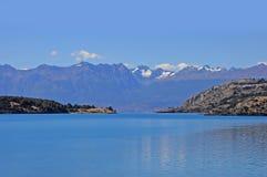 Lago general Carrera. Fotografie Stock