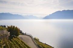 Lago geneva Imagem de Stock