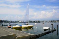 Lago geneva Immagine Stock