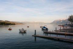 Lago geneva Foto de Stock Royalty Free