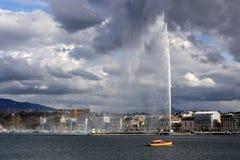 Lago geneva Fotos de archivo