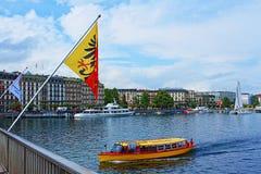 Lago geneva Fotografía de archivo libre de regalías
