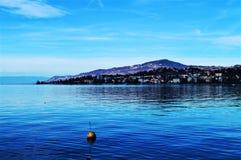Lago geneva, Montreaux Fotografia Stock