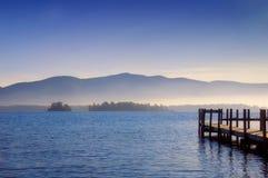 Lago George Fotografia Stock