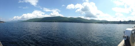 Lago George ny Foto de Stock