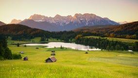 Lago a Gerold fotografie stock