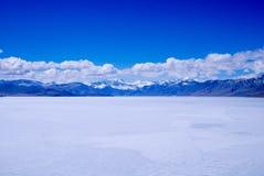Lago ghiacciato Fotografie Stock