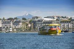 Lago Ginebra foto de archivo libre de regalías