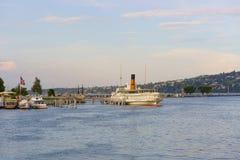 Lago Ginebra fotos de archivo