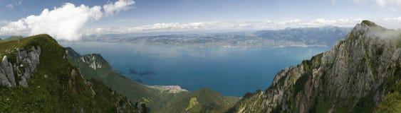 Lago Ginevra Immagine Stock