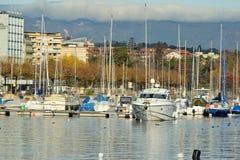Lago Ginevra Fotografie Stock