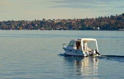Lago Ginevra Immagini Stock