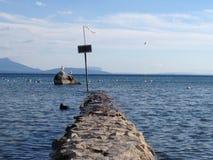 Lago Ginevra, Svizzera Fotografie Stock Libere da Diritti