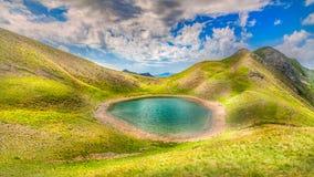 Lago Gistova fotografia stock libera da diritti
