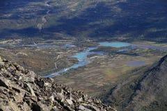 Lago Gjende Fotografia Stock Libera da Diritti