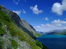 Lago Gjende Fotos de Stock