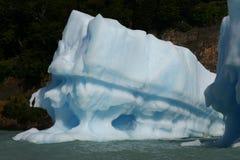 Lago glaciaire (l'Argentine) Photos libres de droits