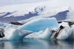 Lago glacial 5 Imagenes de archivo