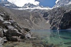 Lago glaciale Fotografia Stock