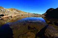 Lago glaciale Immagini Stock Libere da Diritti