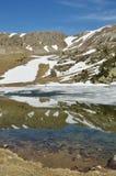 Lago glaciale nella valle di Madriu-Perafita-Claror Immagini Stock Libere da Diritti