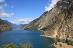 Lago glacier fotografia de stock