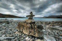 Lago glacier Fotografia Stock Libera da Diritti