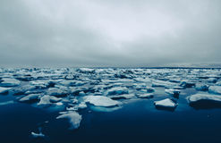 Lago glacier Fotografia Stock