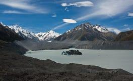 Lago glacier Imagem de Stock Royalty Free