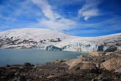 Lago glacier Foto de Stock Royalty Free