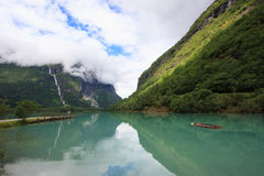 Lago glacier Fotos de archivo