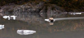 Lago glacier de Knik Fotos de archivo libres de regalías