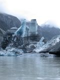 Lago glacier de Tasman fotos de archivo libres de regalías