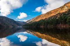 Lago Glendalough Foto de Stock Royalty Free
