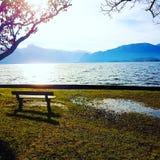Lago Gmunden fotografia de stock royalty free