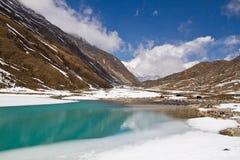 Lago Gokyo fotografie stock libere da diritti