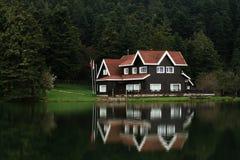 Lago Golcuk Fotografia Stock Libera da Diritti