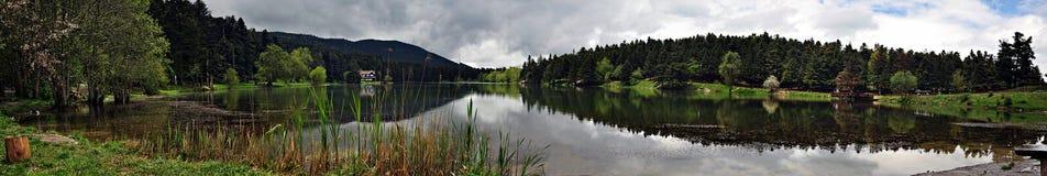 Lago Golcuk in Bolu, Turchia Fotografia Stock Libera da Diritti