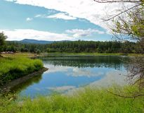 Lago Goldwater Imagenes de archivo